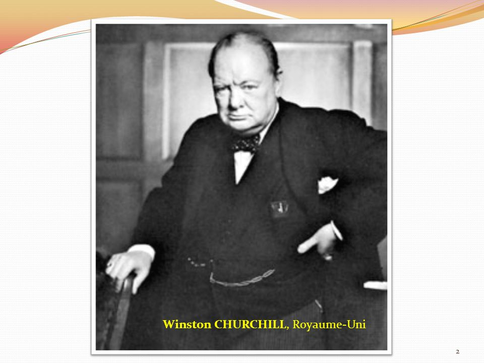 Winston CHURCHILL, Royaume-Uni