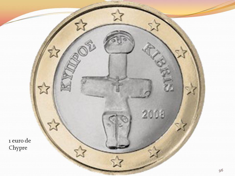 1 euro de Chypre