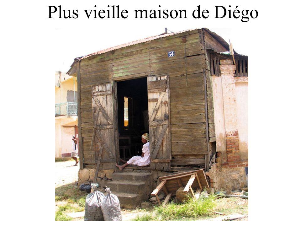 Plus vieille maison de Diégo