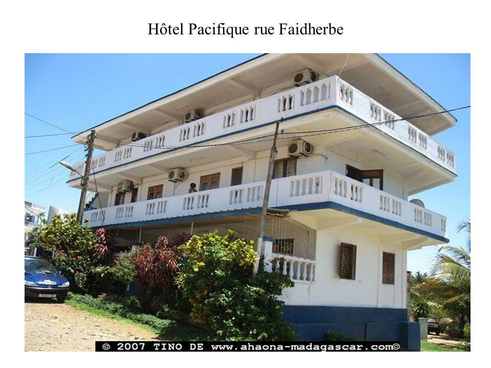 Hôtel Pacifique rue Faidherbe