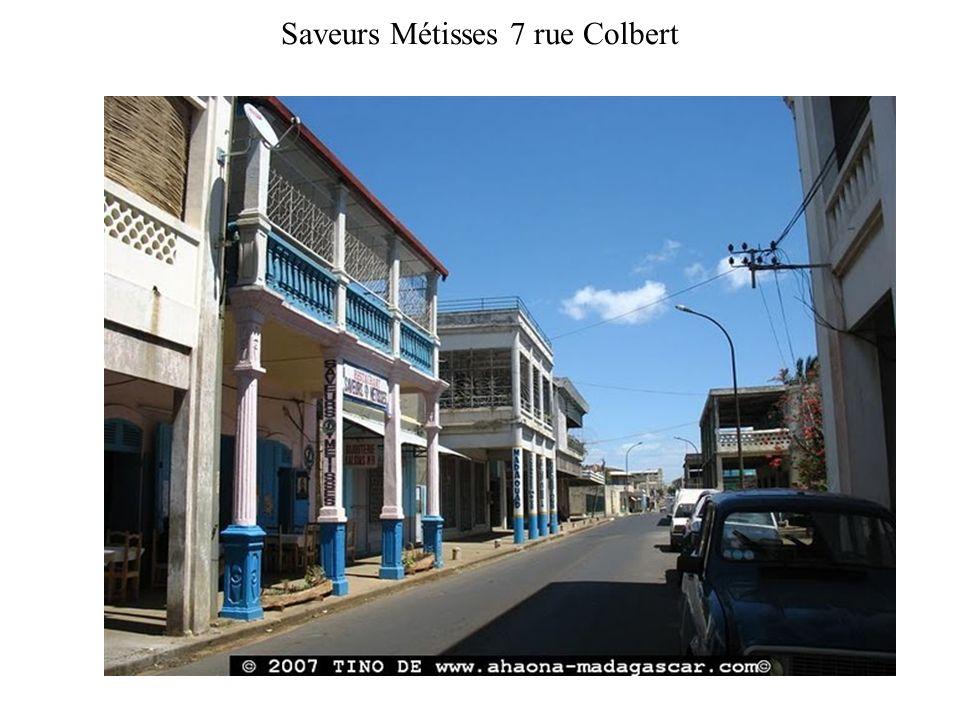 Saveurs Métisses 7 rue Colbert