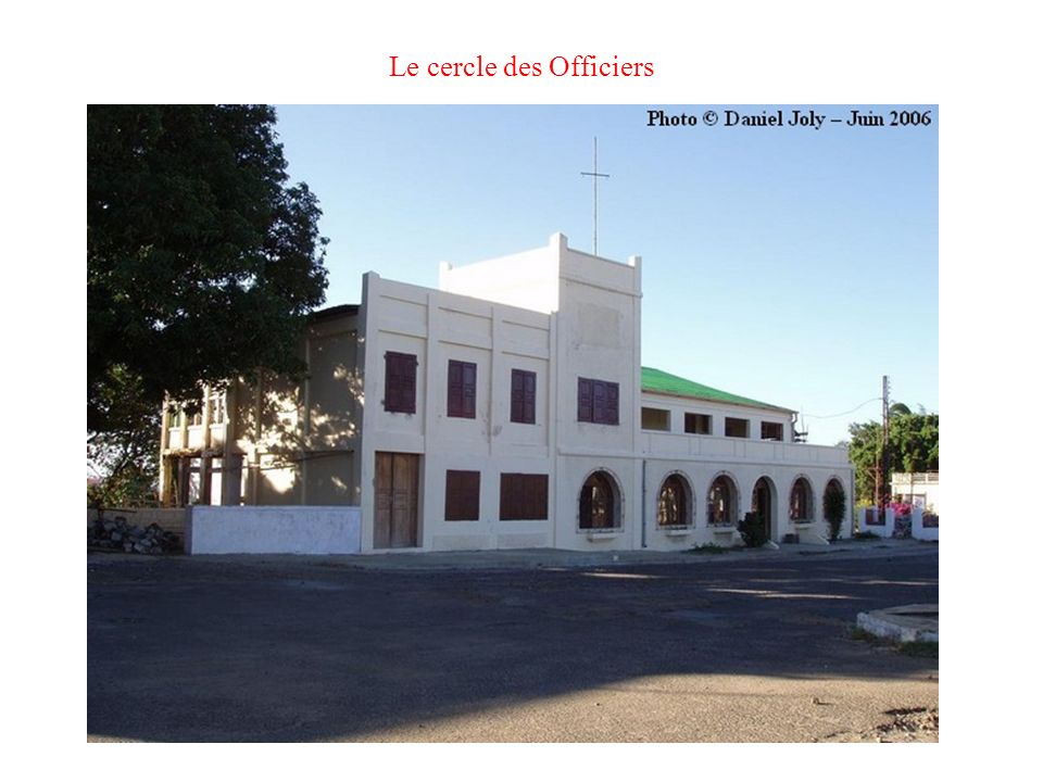 Le cercle des Officiers