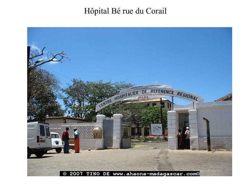 Hôpital Bé rue du Corail