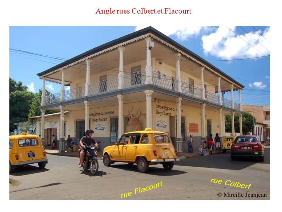 Angle rues Colbert et Flacourt