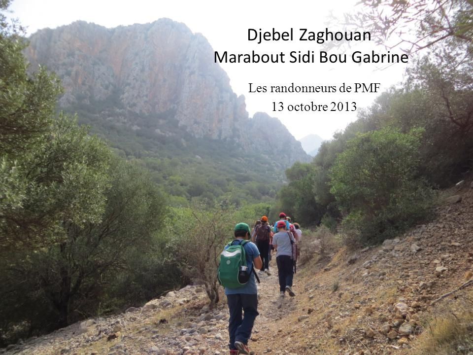 Djebel Zaghouan Marabout Sidi Bou Gabrine