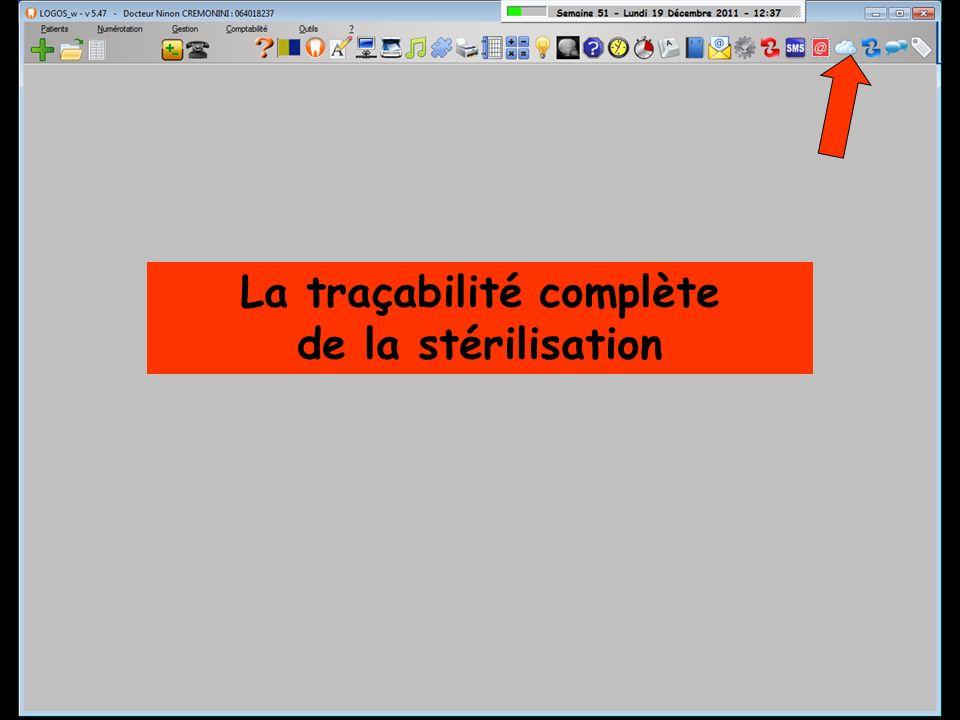 La traçabilité complète