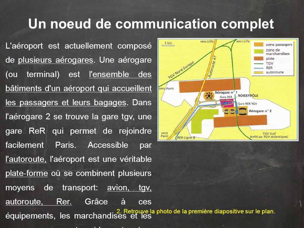 Un noeud de communication complet