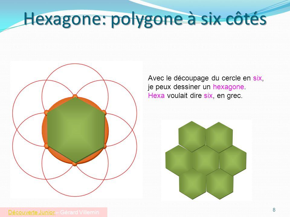 Hexagone: polygone à six côtés