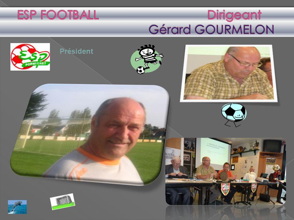 ESP FOOTBALL Dirigeant Gérard GOURMELON