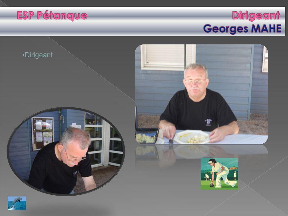 ESP Pétanque Dirigeant Georges MAHE