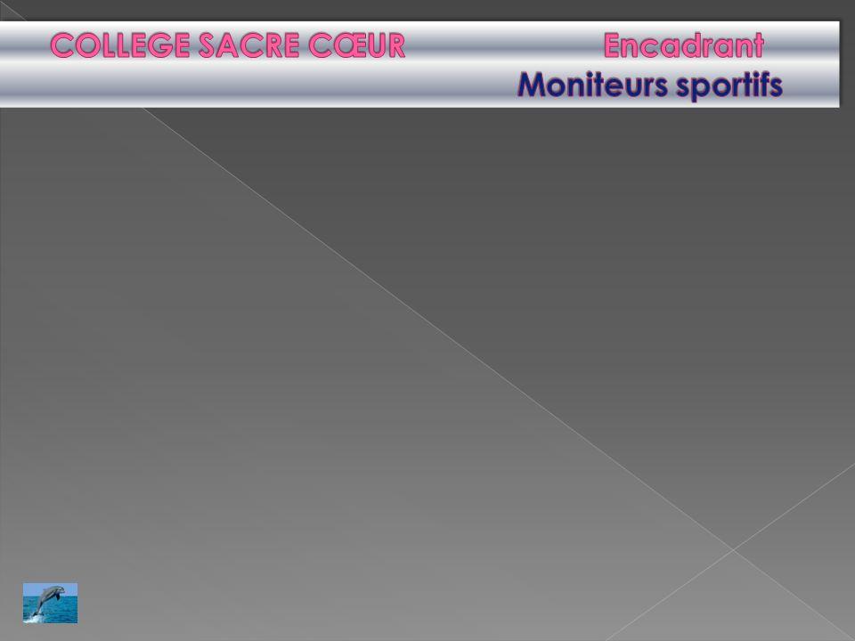 COLLEGE SACRE CŒUR Encadrant Moniteurs sportifs