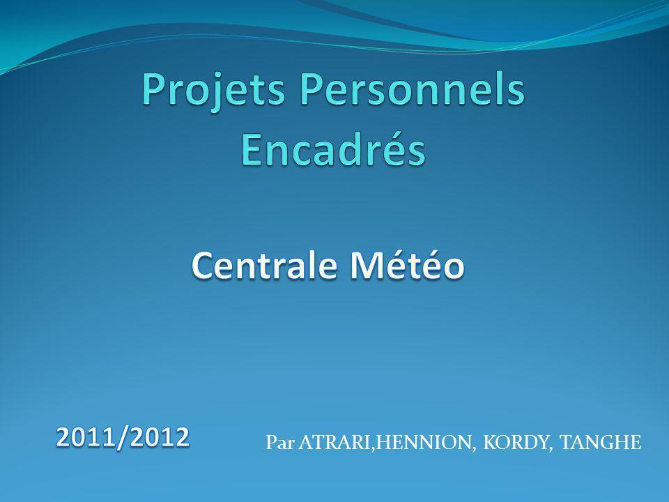 Projets Personnels Encadrés