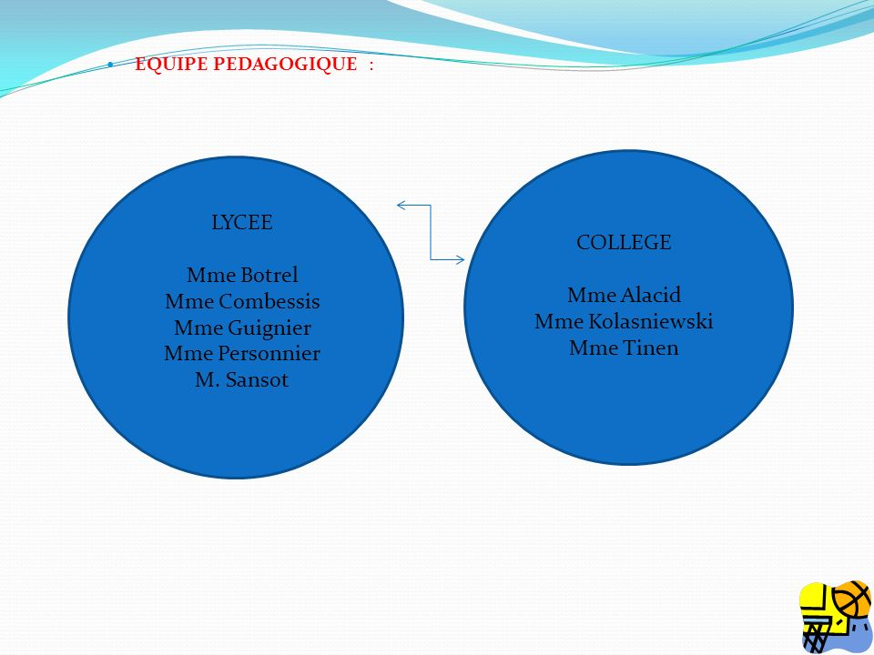LYCEE COLLEGE Mme Botrel Mme Combessis Mme Alacid Mme Guignier