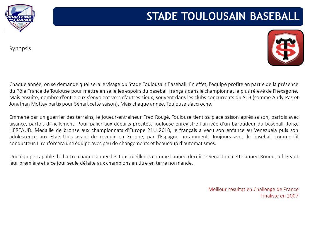 STADE TOULOUSAIN BASEBALL