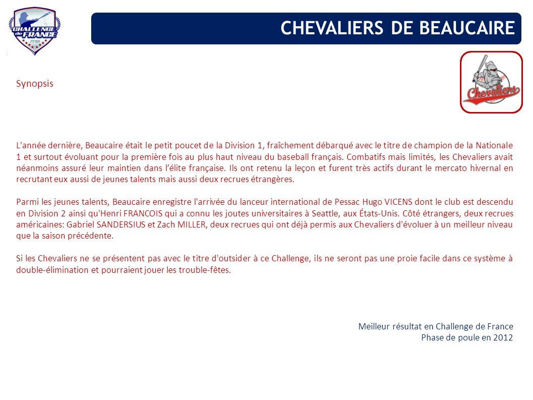 CHEVALIERS DE BEAUCAIRE