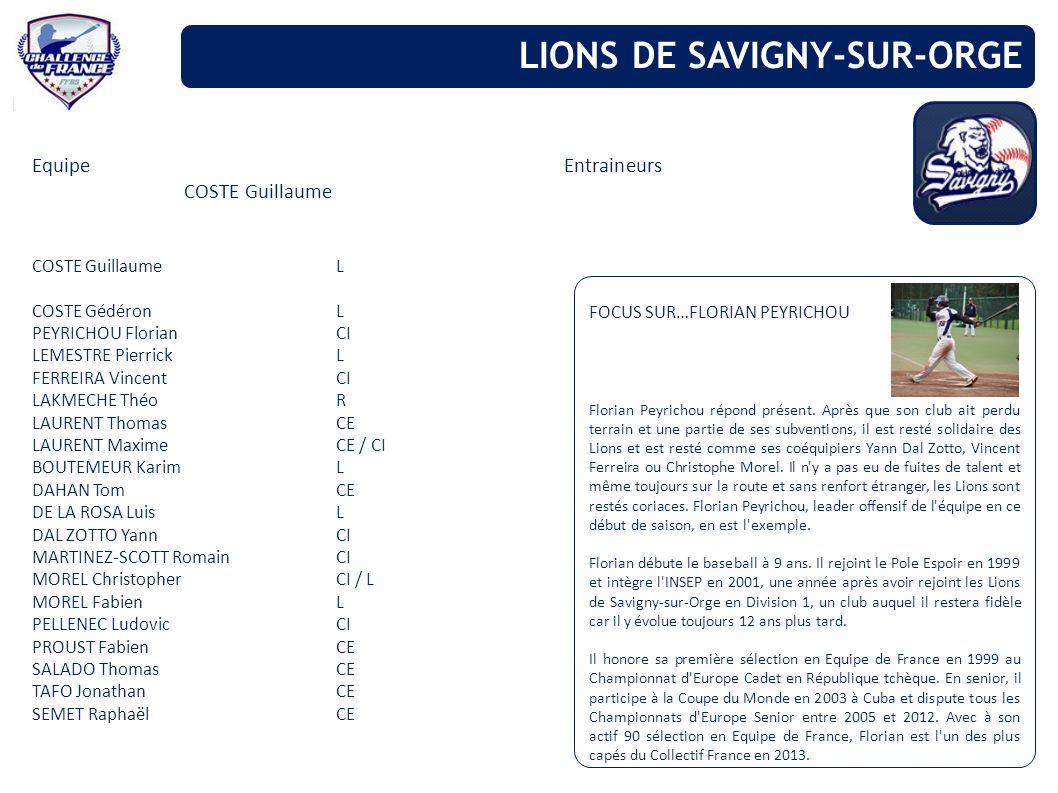 LIONS DE SAVIGNY-SUR-ORGE