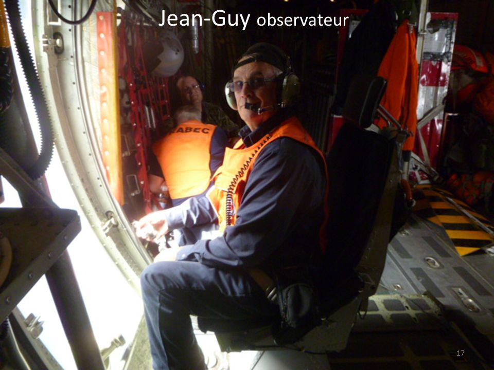 Jean-Guy observateur