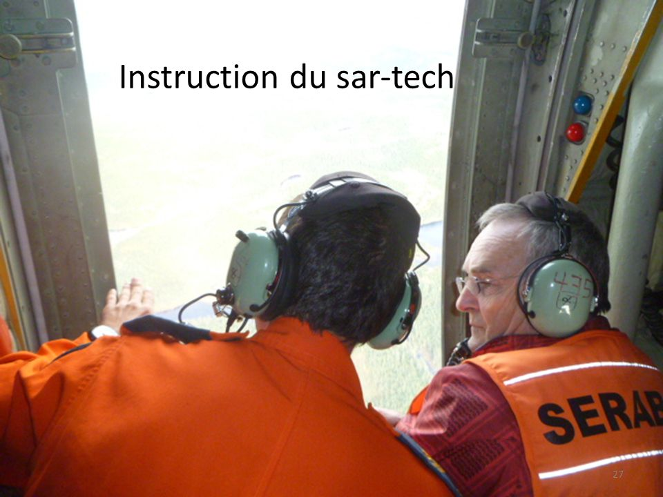 Instruction du sar-tech
