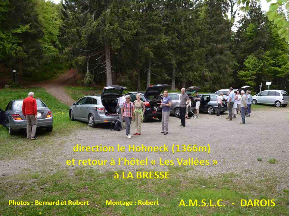 direction le Hohneck (1366m) et retour à l'hôtel « Les Vallées »