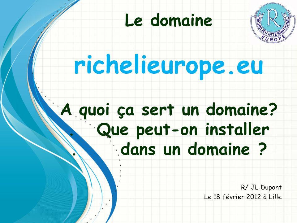 R/ JL Dupont Le 18 février 2012 à Lille