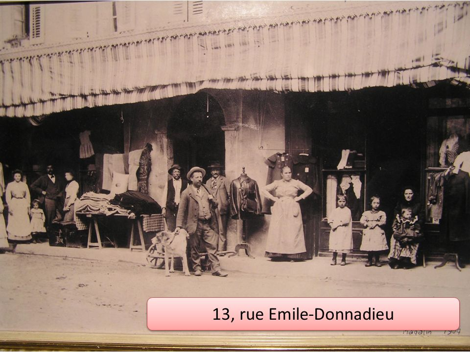 13, rue Emile-Donnadieu