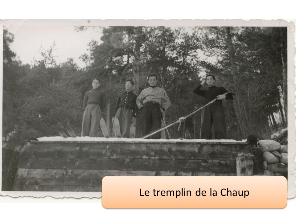 Le tremplin de la Chaup