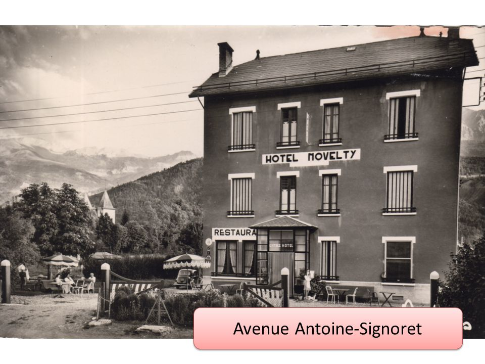 Avenue Antoine-Signoret
