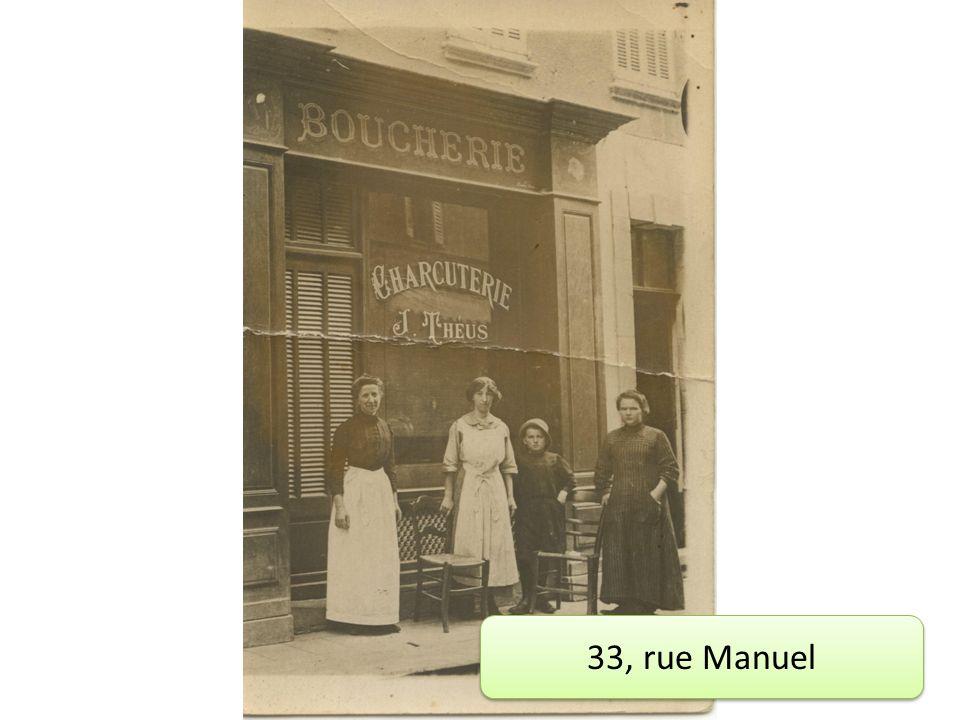 33, rue Manuel