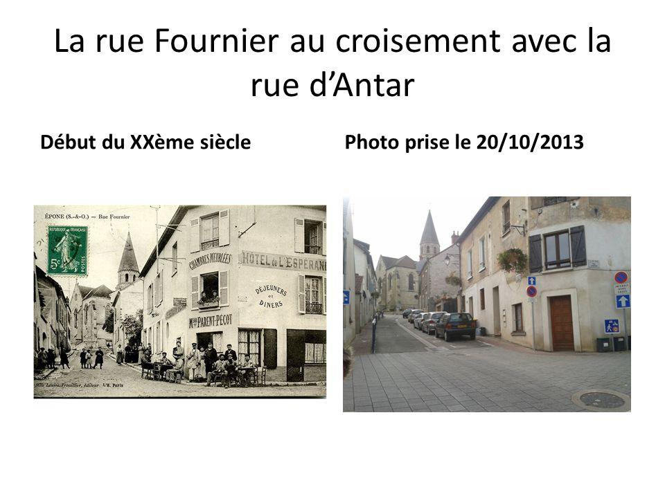 La rue Fournier au croisement avec la rue d'Antar