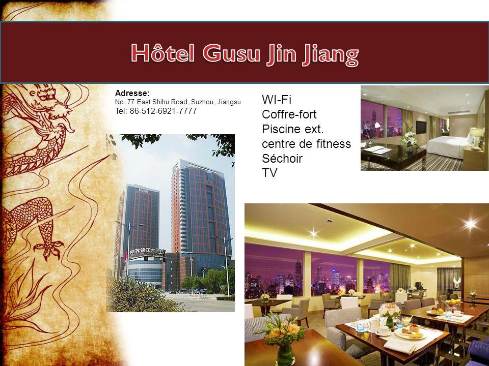 Hôtel Gusu Jin Jiang WI-Fi Coffre-fort Piscine ext. centre de fitness