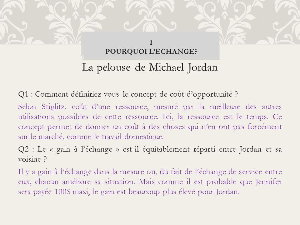 La pelouse de Michael Jordan