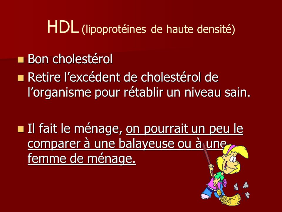 HDL (lipoprotéines de haute densité)