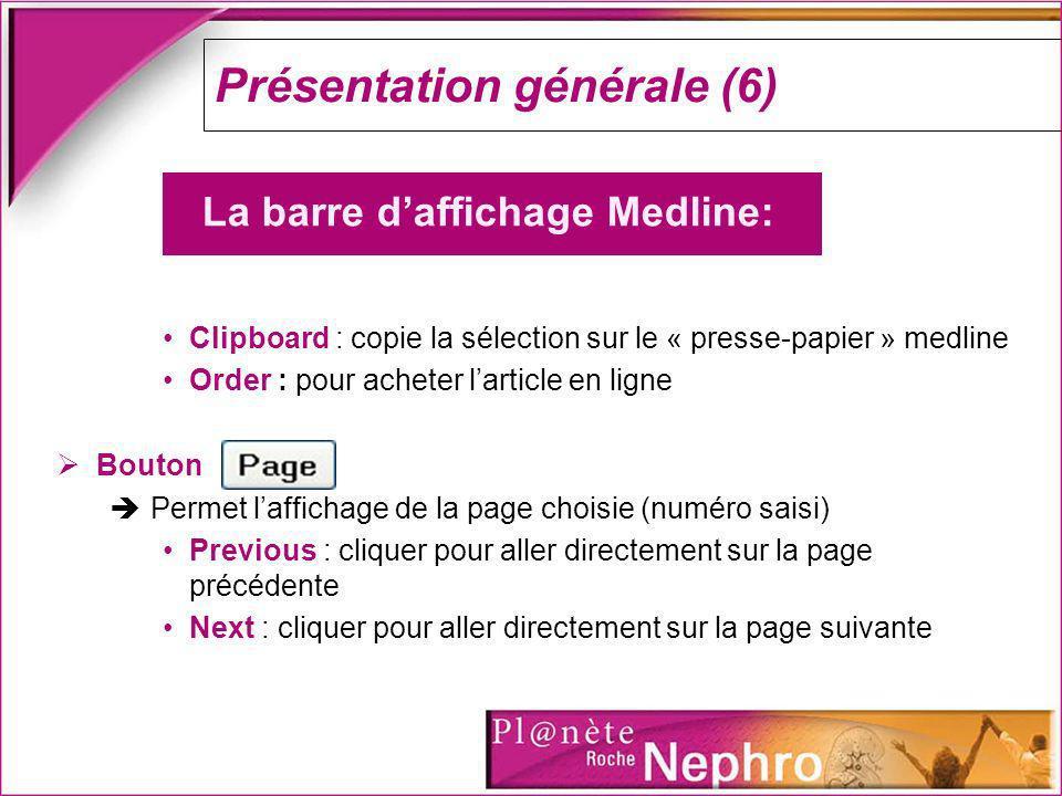 Présentation générale (6)