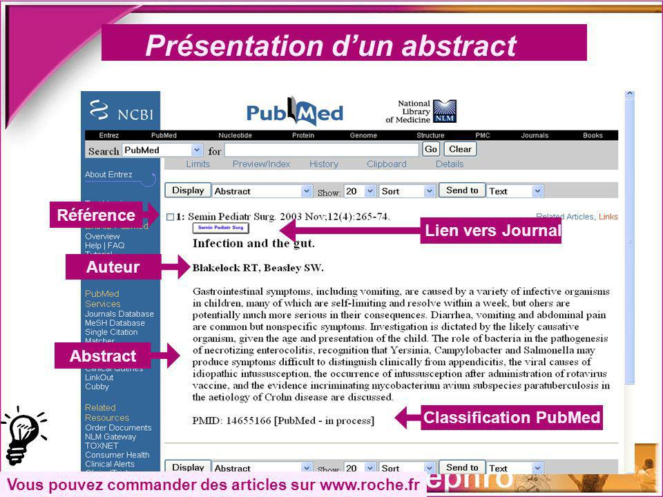Classification PubMed
