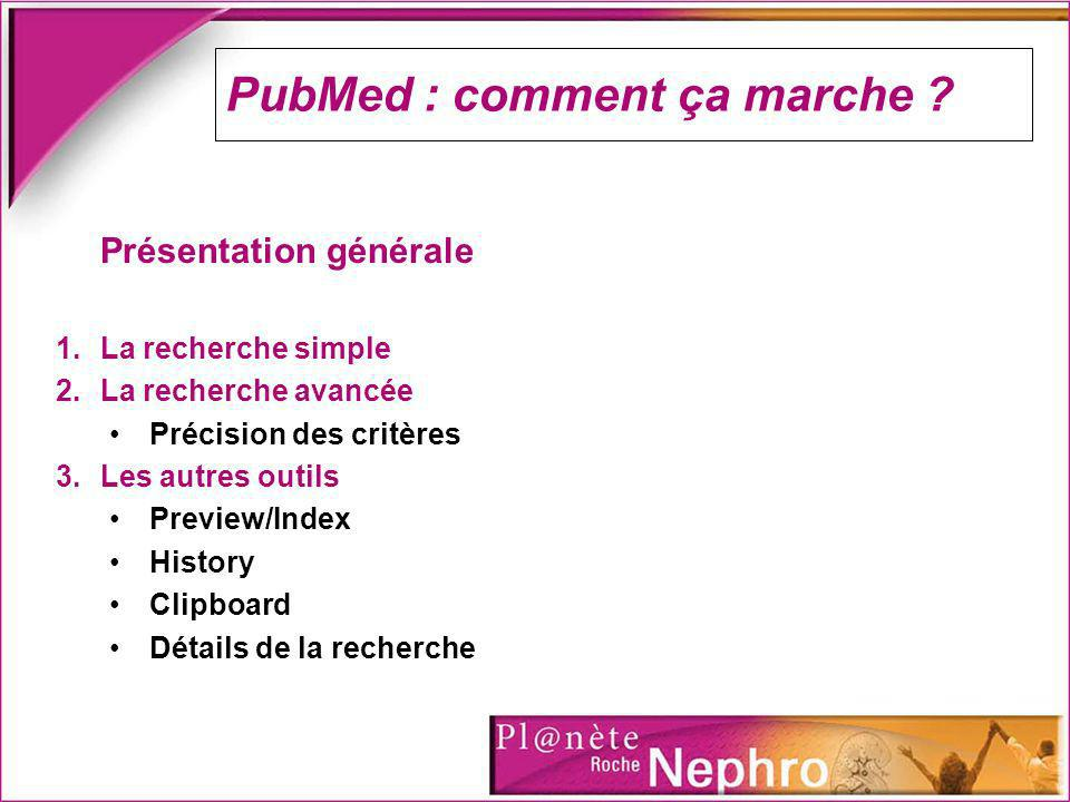 PubMed : comment ça marche