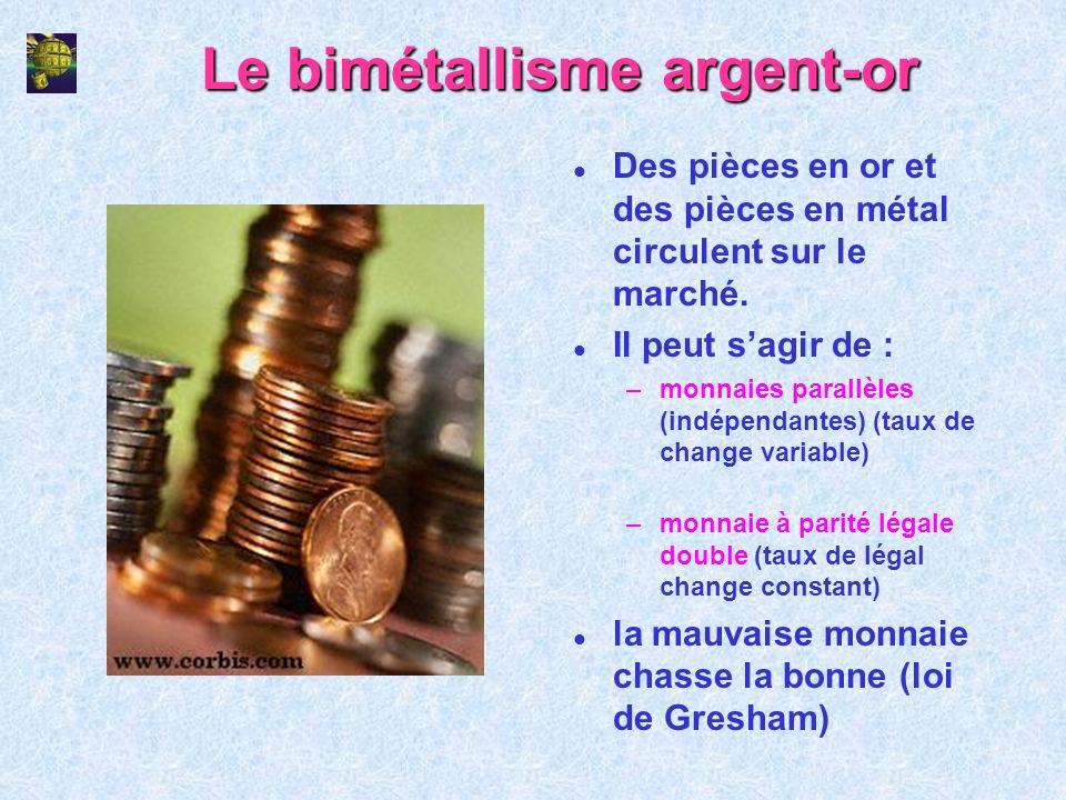 Le bimétallisme argent-or