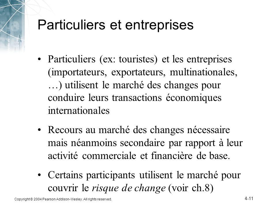 Particuliers et entreprises