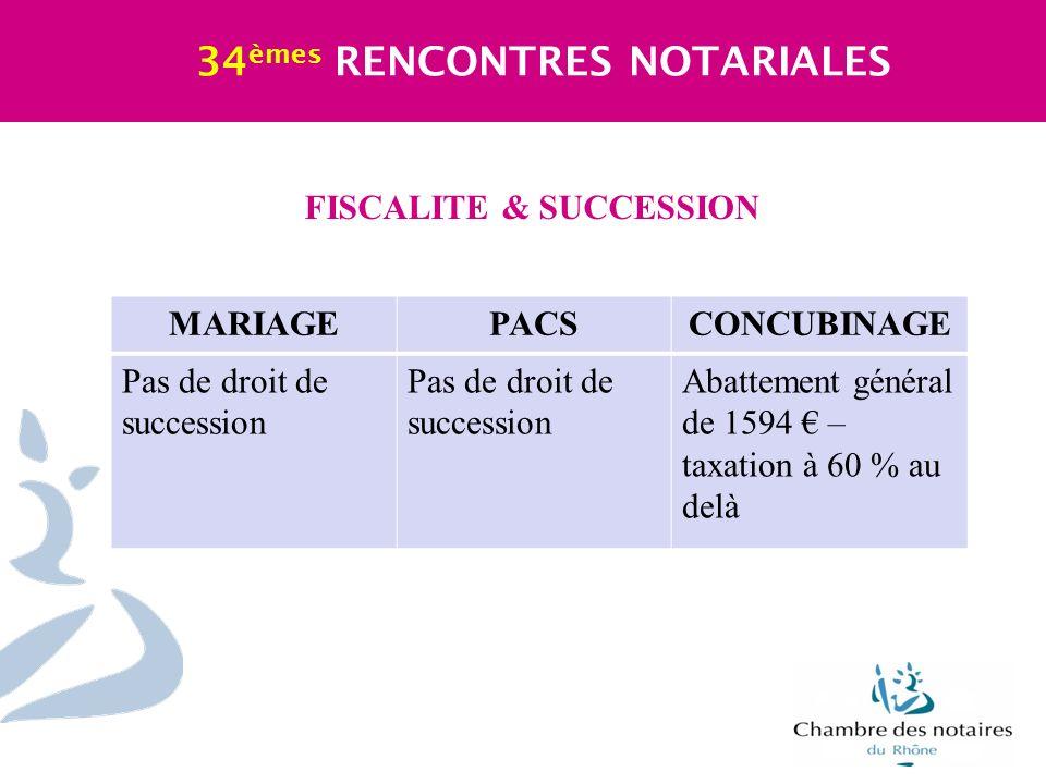 FISCALITE & SUCCESSION