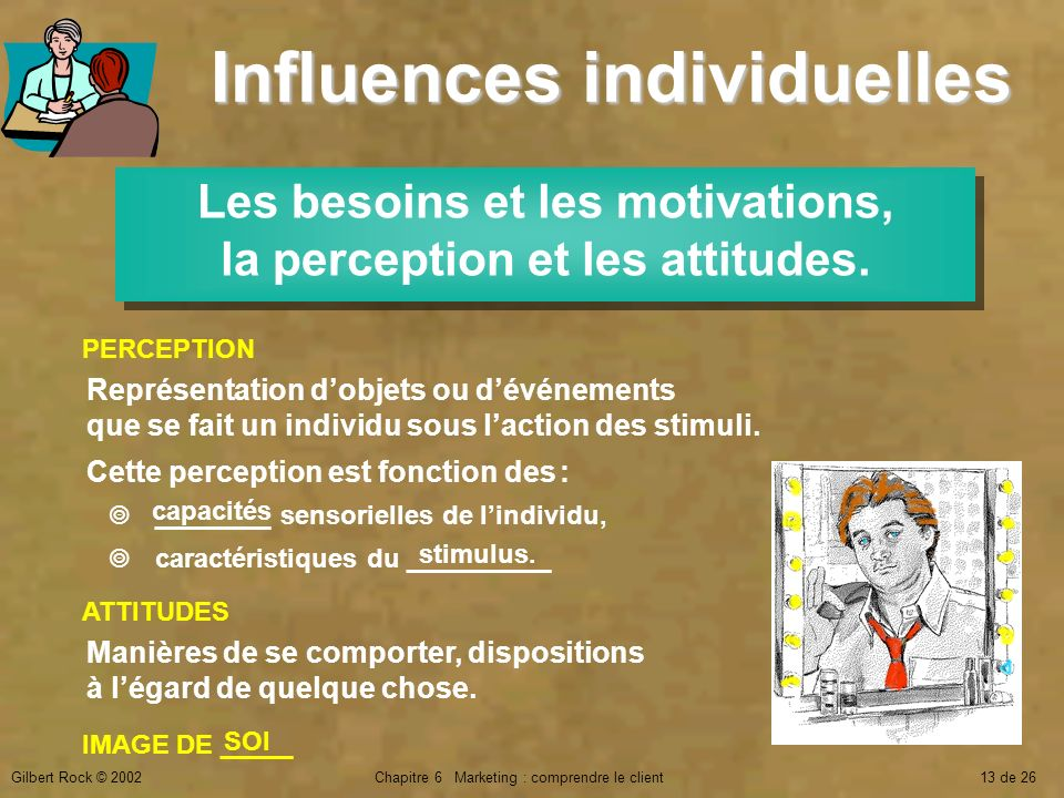Influences individuelles