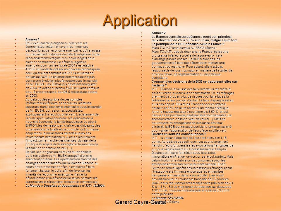 Application Gérard Cayre-Castel