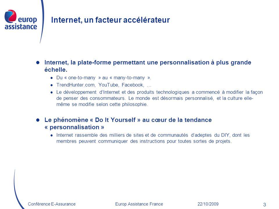 Internet, un facteur accélérateur