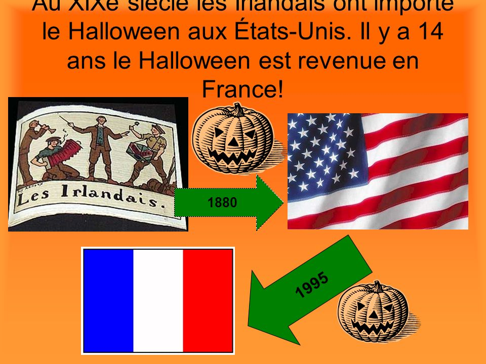 Au XIXe siècle les Irlandais ont importé le Halloween aux États-Unis