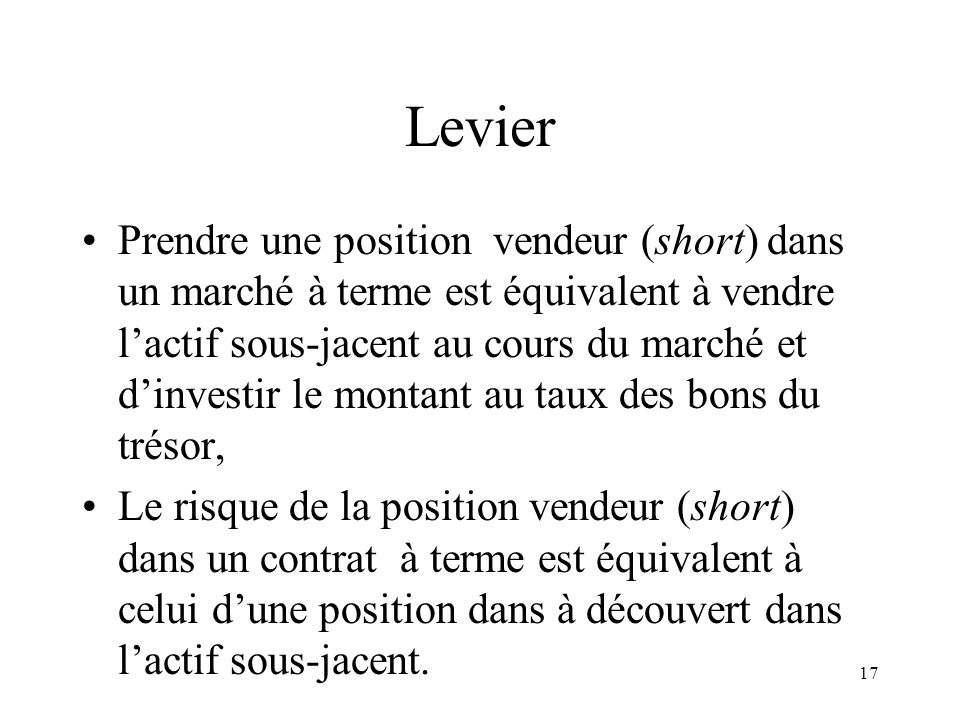 Levier