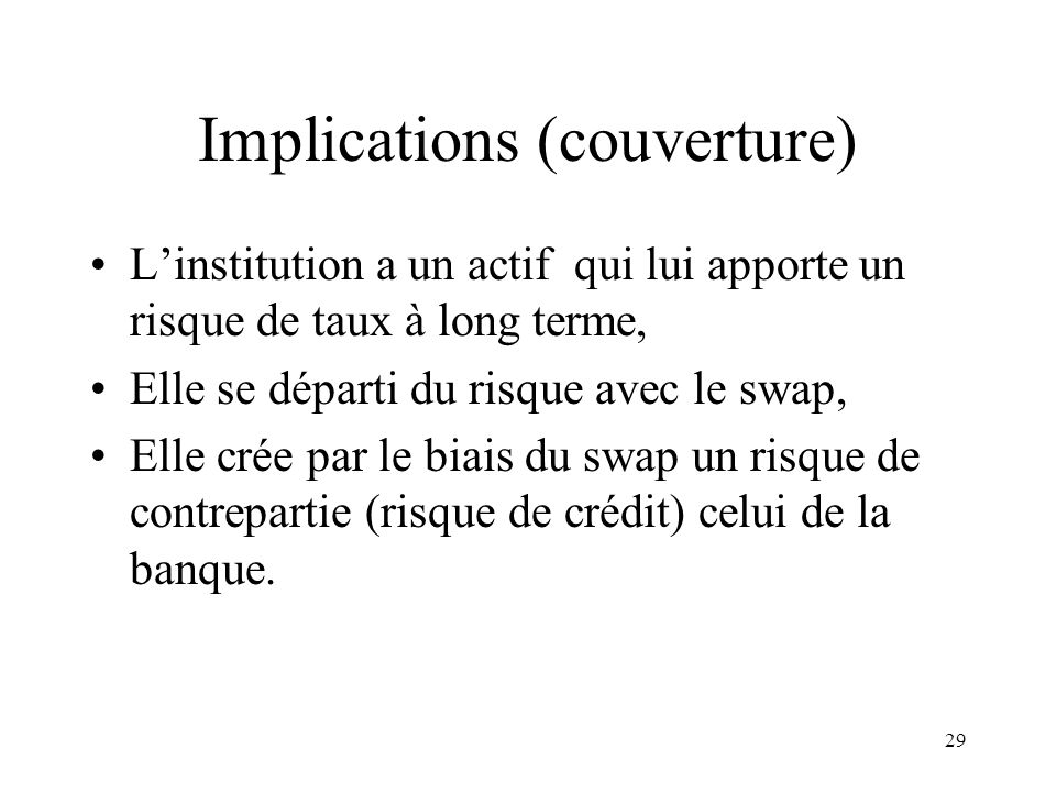 Implications (couverture)