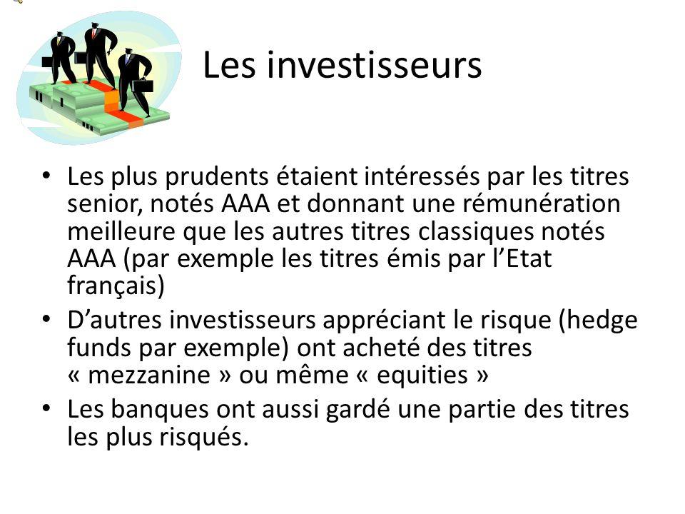 Les investisseurs