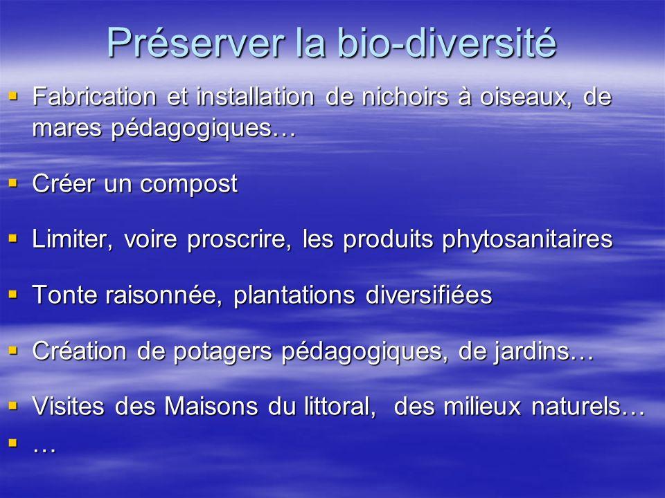 Préserver la bio-diversité