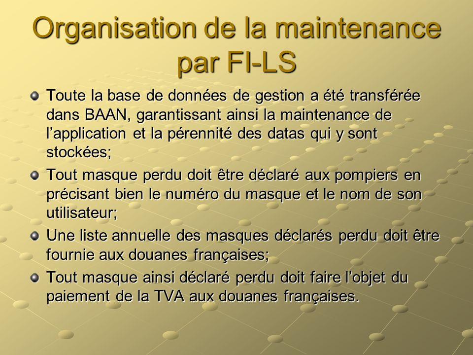 Organisation de la maintenance par FI-LS
