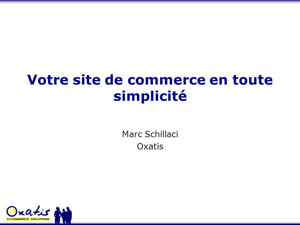 Votre site de commerce en toute simplicité