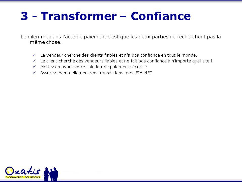 3 - Transformer – Confiance