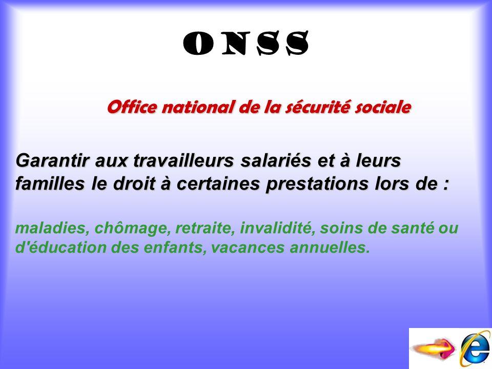 Office national de la sécurité sociale